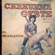 Tebeos: CARAVANA OESTE- Nº 218 -EL PICAPLEITOS-1978-DESLUCIDO DE PORTADA-BUENO-DIFÍCIL-LEA-3152. Lote 195122557