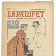 Tebeos: EN PATUFET. ANY VII Nº-357 BARCELONA 12 NOVEMBRE DE 1910. Lote 195124925