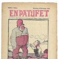 Tebeos: EN PATUFET. ANY VII Nº-358 BARCELONA 19 NOVEMBRE DE 1910. Lote 195125146