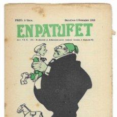 Tebeos: EN PATUFET. ANY VII Nº-360 BARCELONA 3 DESEMBRE DE 1910. Lote 195125578
