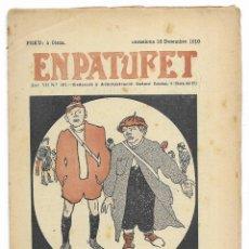 Tebeos: EN PATUFET. ANY VII Nº-361 BARCELONA 10 DESEMBRE DE 1910. Lote 195125756