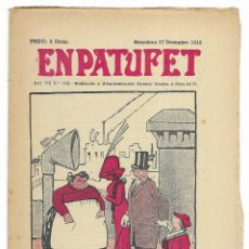Tebeos: EN PATUFET. ANY VII Nº-362 BARCELONA 17 DESEMBRE DE 1910. Lote 195125957