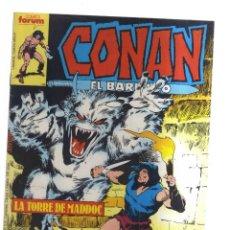 Tebeos: CONAN EL BARBARO FORUM N,109. Lote 195191965