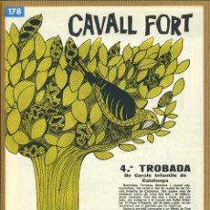 Tebeos: CAVALL FORT - Nº 178. Lote 195223998
