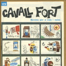 Tebeos: CAVALL FORT - Nº 179. Lote 195224090
