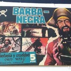 Tebeos: (M0) BARBA-NEGRA , FANTASIA Y CRUELDAD 1611 - 1673 , SEÑALES DE USO NORMAL. Lote 195300600