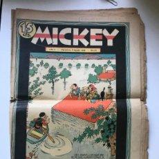 Tebeos: MICKEY AÑOII 8 AGOSTO DE 1936 Nº 74. Lote 195300898