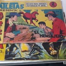 Tebeos: SERIE ATLETAS ÁFRICA (EDITORIAL MAGA 1964). ¡AL TIGRE! Nº12 - ATLETAS AFRICA Nº 29. Lote 195305525