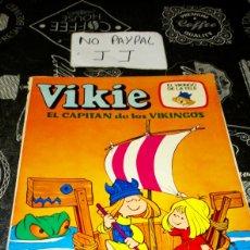 Tebeos: VIKIE EL CAPITÁN DE LOS VIKINGOS 1 VER FOTOS ESTADO NECESITA REPARACIÓN Y LIMPIEZA AÑO 1975. Lote 195339897
