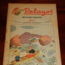 Tebeos: REVISTA PELAYOS, SEMANARIO INFANTIL 1938, Nº 70, MIDE 34 X 21 CMS. REQUETÉ, CARLISMO. BUEN ESTADO.. Lote 195361912