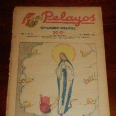 Tebeos: REVISTA PELAYOS, SEMANARIO INFANTIL 1938, Nº 60, MIDE 34 X 21 CMS. REQUETÉ, CARLISMO.. Lote 195362057