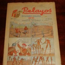 Tebeos: REVISTA PELAYOS, SEMANARIO INFANTIL 1938, Nº 71, MIDE 34 X 21 CMS. REQUETÉ, CARLISMO. BUEN ESTADO.. Lote 195362305