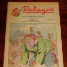 Tebeos: REVISTA PELAYOS, SEMANARIO INFANTIL 1938, Nº 75, MIDE 34 X 21 CMS. REQUETÉ, CARLISMO. . Lote 195362810