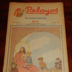 Tebeos: REVISTA PELAYOS, SEMANARIO INFANTIL 1938, Nº 78, MIDE 34 X 21 CMS. REQUETÉ, CARLISMO.. Lote 195362982