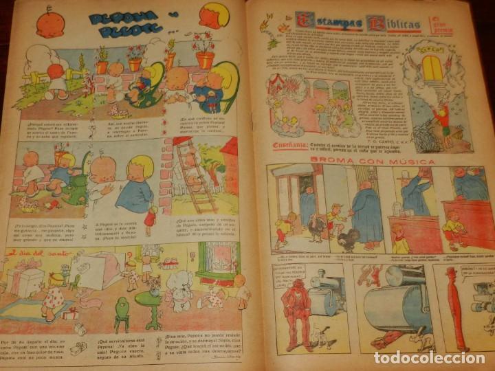 Tebeos: Flechas y Pelayos. Semanario nacional infantil. Nº 26. 4 de Junio 1939. Incluye cuento Mari Pepa. - Foto 3 - 195363646