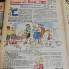 Tebeos: FLECHAS Y PELAYOS. SEMANARIO NACIONAL INFANTIL. Nº 26. 4 DE JUNIO 1939. INCLUYE CUENTO MARI PEPA.. Lote 195363646