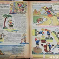 Tebeos: FLECHAS Y PELAYOS Nº 94 EDITA FE Y JONS, 1940, INCLUYE CUENTO MARI PEPA Y RECORTABLE. MIDE 34 X 21 C. Lote 195364265
