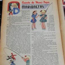 Tebeos: FLECHAS Y PELAYOS Nº 38 EDITA FE Y JONS, 1939, INCLUYE CUENTO MARI PEPA. MIDE 34 X 21 CMS. Lote 195364623