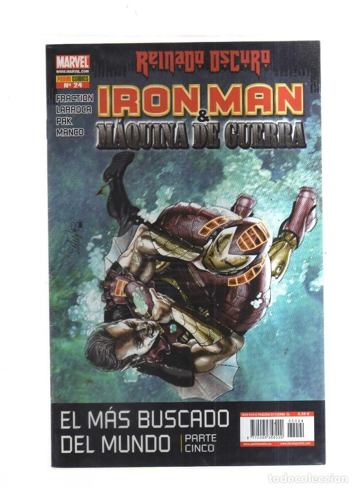 IRON MAN MAQUINA DE GUERRA REINADO OSCURO N,24 (Tebeos y Comics - Tebeos Otras Editoriales Clásicas)