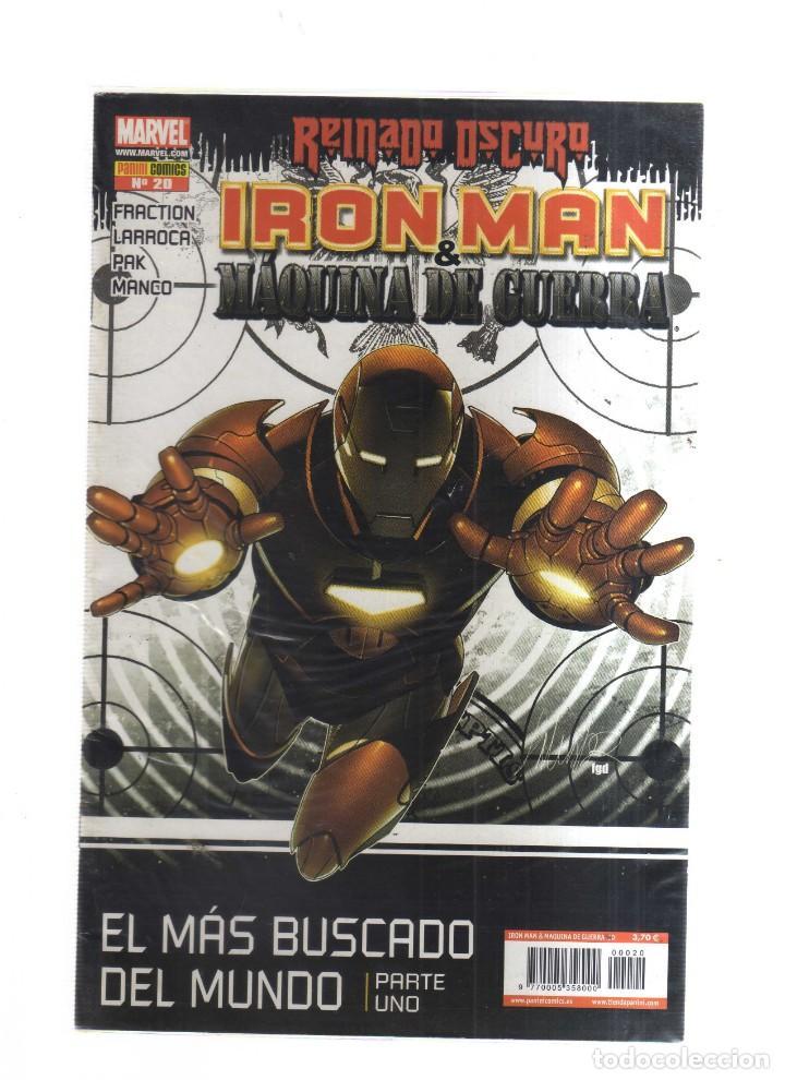 IRON MAN MAQUINA DE GUERRA REINADO OSCURO N,20 (Tebeos y Comics - Tebeos Otras Editoriales Clásicas)