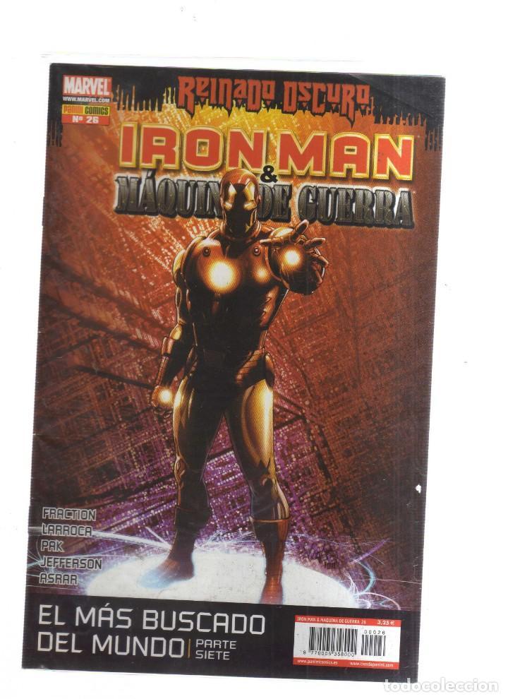 IRON MAN MAQUINA DE GUERRA REINADO OSCURO N,26 (Tebeos y Comics - Tebeos Otras Editoriales Clásicas)
