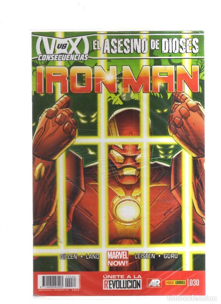 IRON MAN EL ASESINO DE DIOSES N,030 (Tebeos y Comics - Tebeos Otras Editoriales Clásicas)