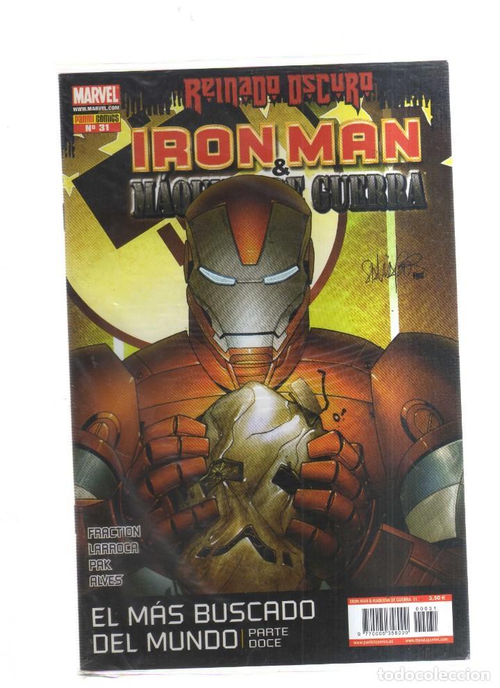 IRON MAN MAQUINA DE GUERRA REINADO OSCURO N31 (Tebeos y Comics - Tebeos Otras Editoriales Clásicas)