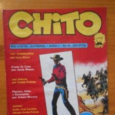 Tebeos: CHITO - REVISTA JUVENIL - AÑO I - Nº 4 (HL). Lote 195408126