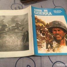 Tebeos: ÁREA DE GUERRA Nº 1 - RELATOS GRÁFICOS VILMAR. 1980. Lote 195414920