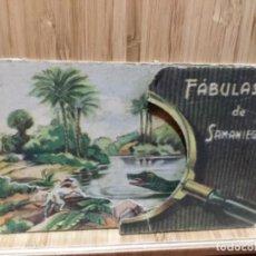 Tebeos: FÁBULAS DE SAMANIEGO.EL PERRO Y EL COCODRILO.RELIEVES BASA&PAGES S/A.. Lote 195435931