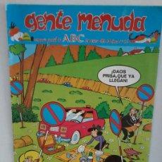 Tebeos: TEBEO. GENTE MENUDA. SEMANA JUVENIL DE ABC. 20 ENERO 1991.III EPOCA Nº 62.. Lote 195470017
