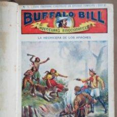 Tebeos: BUFFALO BILL - AVENTURAS EMOCIONANTES - 60 EJEMPLARES ENCUADERNADOS EN 2 TOMOS -COMPLETA - PJRB. Lote 195518083