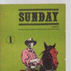 Tebeos: SUNDAY COMICS REVISTA SOBRE ESTUDIOS E INVESTIGACIÓN DE LA HISTORIETA . Lote 195676853