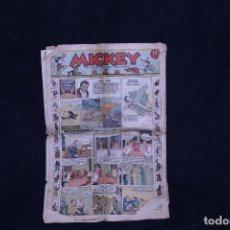 Tebeos: MICKEY, 1935 FORMATO PERIODICO. Lote 195949416