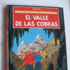 Tebeos: COMIC, LAS AVENTURAS DE JORGE SARA Y PIPO, EL VALLE DE LAS COBRAS, HERGE, CASTERMAN, MINI. Lote 196095970