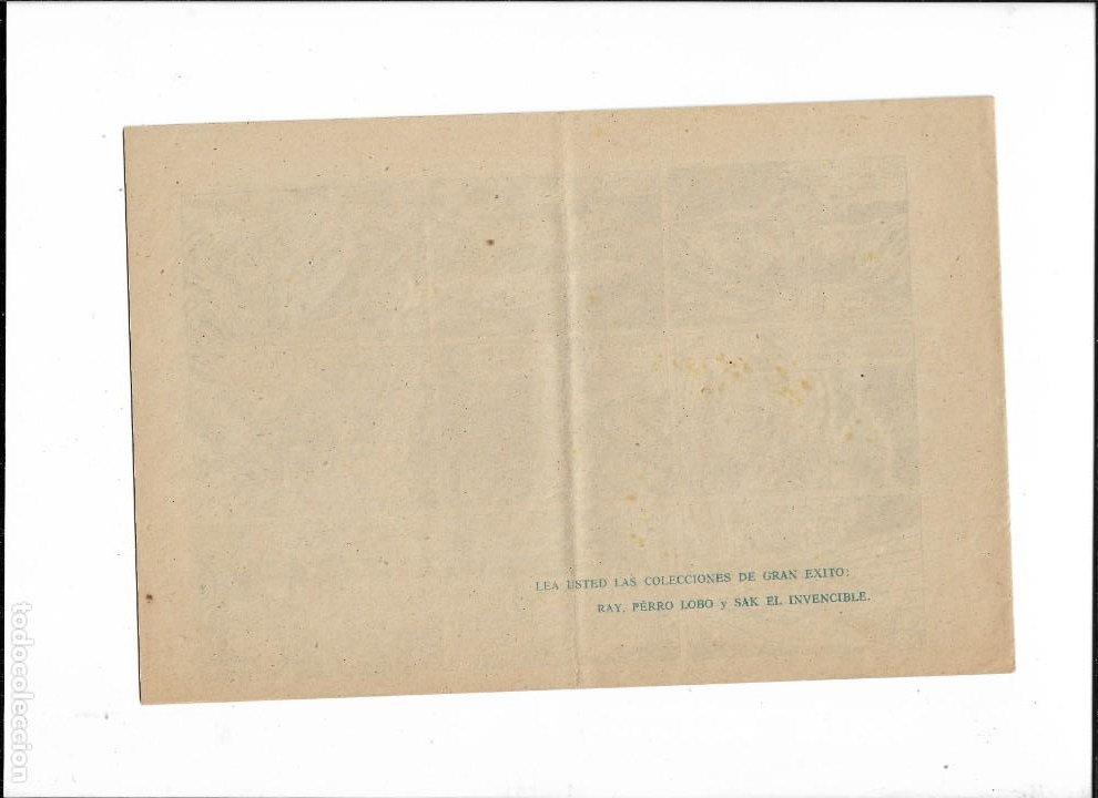 Tebeos: Sak el Invencible. Nº 1. Año 1954. es Original y nuevo Dibujante Luis Ramos. Editorial Simbolo. - Foto 2 - 196238516