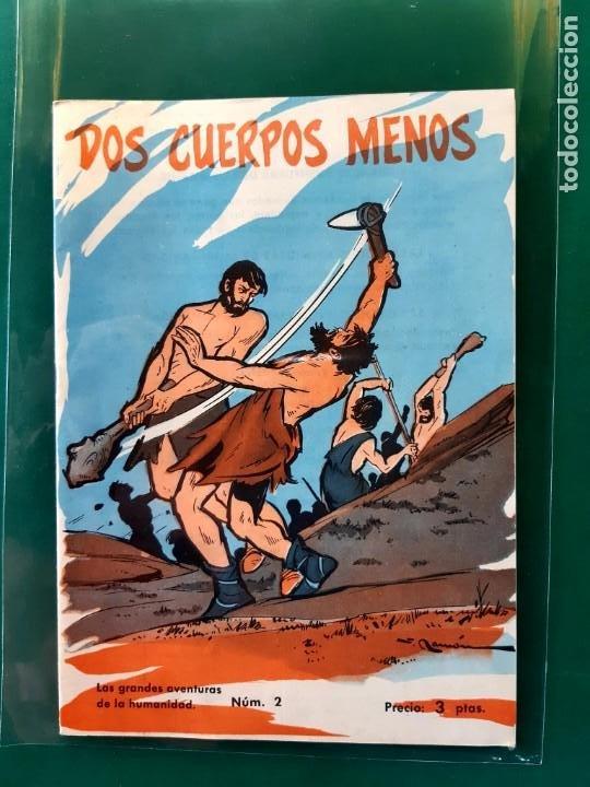 Tebeos: LAS GRANDES AVENTURAS DE LA HUMANIDAD Nº1-2-3-4-5-y 6 DOMINGO SABIO 1963 VER FOTOS - Foto 3 - 196355670