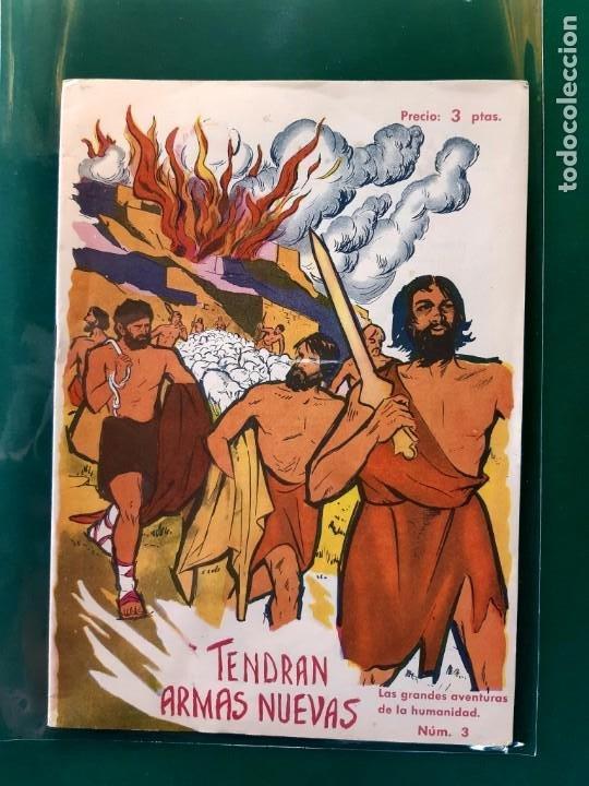 Tebeos: LAS GRANDES AVENTURAS DE LA HUMANIDAD Nº1-2-3-4-5-y 6 DOMINGO SABIO 1963 VER FOTOS - Foto 4 - 196355670