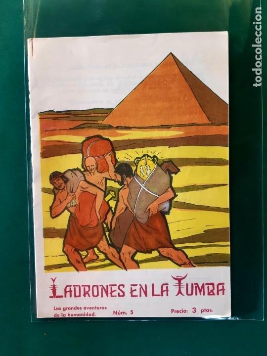 Tebeos: LAS GRANDES AVENTURAS DE LA HUMANIDAD Nº1-2-3-4-5-y 6 DOMINGO SABIO 1963 VER FOTOS - Foto 6 - 196355670