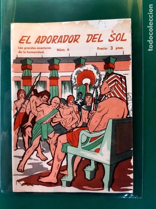 Tebeos: LAS GRANDES AVENTURAS DE LA HUMANIDAD Nº1-2-3-4-5-y 6 DOMINGO SABIO 1963 VER FOTOS - Foto 7 - 196355670