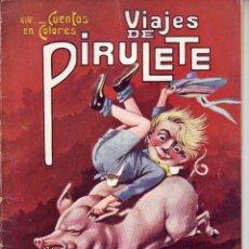 Tebeos: CUENTOS EN COLORES - VIAJES DE PIRULETE - R. SOPENA -DIBUJOS ASHA. Lote 196575431