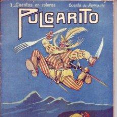 Tebeos: CUENTOS EN COLORES -PULGARCITO - R. SOPENA -DIBUJOS ASHA. Lote 196575796