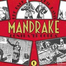 Tebeos: MANDRAKE - QUINCE EJEMPLARES. Lote 196645822