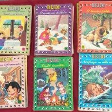 Tebeos: LOTE DE LIBROS ANTIGUO - HEIDI - 1978 - NUMERO DEL 7 AL 30. Lote 196930325