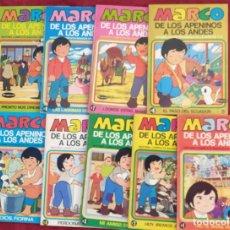 Tebeos: LOTE DE LIBROS ANTIGUO- MARCO - 1976- N° 1 AL 9. Lote 197238376