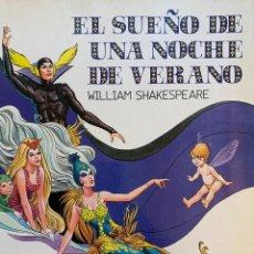 BDs: EL SUEÑO DE UNA NOCHE DE VERANO DE WILLIAM SHAKESPEARE (COMIC). Lote 197584987