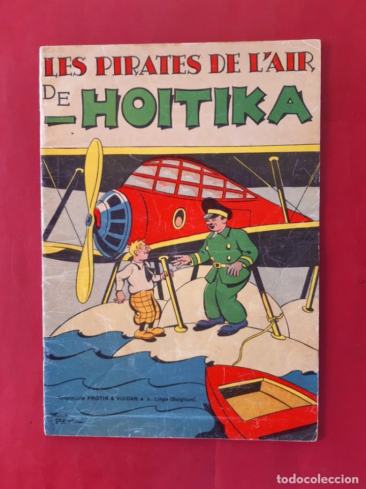 LES PIRATES DE L'AIR DE HOITIKA TAPA BLANDA (1937) BUEN ESTADO (Tebeos y Comics - Tebeos Clásicos (Hasta 1.939))