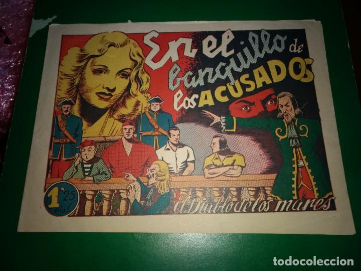EL DIABLO DE LOS MARES - EN EL BANQUILLO DE LOS ACUSADOS - ORIGINAL TORAY DIFICIL Y BIEN CONSERVADO (Tebeos y Comics - Tebeos Otras Editoriales Clásicas)