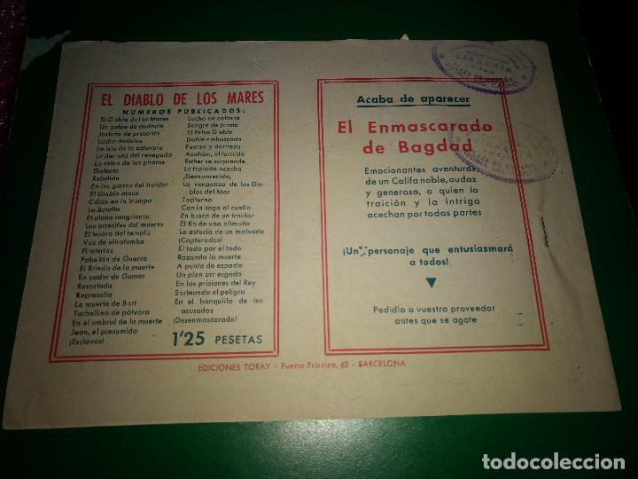 Tebeos: El diablo de los mares - en el banquillo de los acusados - Original Toray DIFICIL Y BIEN CONSERVADO - Foto 2 - 198110322