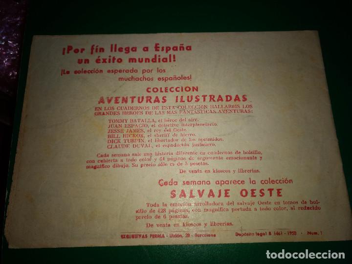 Tebeos: EL PEQUEÑO TRAMPERO, 2º SERIE Nº 1, PIE DE BISONTE, AÑO 1958 - Foto 2 - 198111843